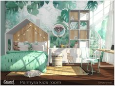 A set of furniture and decor for the children's room Found in TSR Category 'Sims. A set of furniture and decor for the children's room Found in TSR Category 'Sims 4 Kids Bedroom Sets' The Sims 4 Kids, The Sims 4 Bebes, Sims 4 Children, Sims 4 Toddler, Toddler Bed, Toddler Furniture, Sims 4 Cc Furniture, Kids Bedroom Furniture, Barbie Furniture