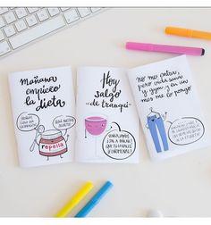Set de 3 libretitas con pequeñas mentiras de Pedrita Parker sobre empezar la dieta, salir de tranqui y esas canciones pegadizas que no puedes parar de cantar.