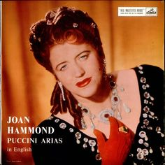 Dame Joan Hilda Hood Hammond, DBE, CMG (24 May 1912 – 26 November 1996) was an Australian operatic soprano, singing coach and champion golfer.