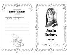 Amelia Earhart: Famous American Mini-Book
