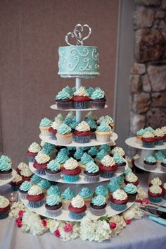 Cake or Cupcakes? Why not both from Pastry Chef Janielle at Park Hyatt Beaver Creek Resort and Spa in Avon, Colorado.