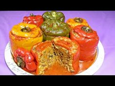 ARDEI UMPLUTI DE POST - Fasting stuffed peppers|Everything for everyone - YouTube Romanian Food, Meatloaf, Food Videos, Everything, Stuffed Peppers, Vegetables, Youtube, Stuffed Pepper, Vegetable Recipes