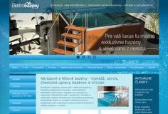 elektrobazeny.sk Graphic Design, Luxury, Visual Communication