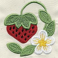 A Design By Lyn Strawberry Embroidery Designs for Machine Embroidery