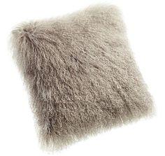 Tibetan Throw Pillow - Parker Wool