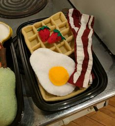 I've chosen to make this pdf pattern and full instructions free. If you find it helpful, a donation in any amount is appreciated. Contributions help fund future felt food free-pattern-making adventures. This post features a video showing the full waffle making process, a list of supplies to gather, a printable pattern, and finally a…