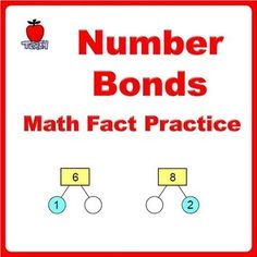 Practice Number Bonds up to 10. Identify part of numbers to form a whole. Total of 32 number bonds to solve. Lay a strong foundation for kids with math fact practice.  You can also use number bonds to solve word story problems with these worksheets:  - Addition Word Story Problems using Number Bonds - Subtraction Word Story Problems using Number Bonds  Based on Singapore Math curriculum.