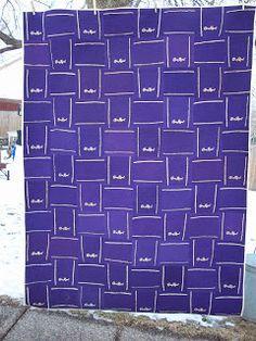 Annsarts: Crown Royal Bag Quilt