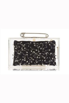 Charlotte Olympia Punk Pandora clutch from the Charlotte Olympia & Tom Binns collection, price on request. Charlotte Olympia, Balmain, Crazy Piercings, Fendi, Versace, Punk Shop, Tom Binns, Womens Designer Bags, Altered Couture