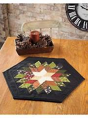 Rock Candy Table Topper Pattern quilt pattern from Annie's Craft Store. Order here: https://www.anniescatalog.com/detail.html?prod_id=108709&cat_id=1430
