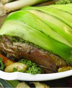 Leg of Lamb Wrapped in Leeks http://wm13.walmart.com/Cook/Recipes/21745/