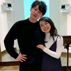 """tsundere male lead is always the sweetest. Its Gonna Be Okay, Back Hug, Ceiling Fan Chandelier, Takeru Sato, Park Bo Young, Japanese Drama, Drama Korea, Tsundere, Kpop"