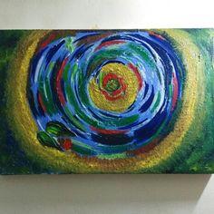 Abstract art on canvas. Oil Pastel Paintings, Abstract Art, Canvas Art, Artwork, Work Of Art, Auguste Rodin Artwork, Canvas Paintings, Artworks, Canvas Wall Art