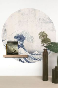 Style Japonais, Magnetic Wall, Japanese Prints, Love Signs, Whiteboard, Wooden Shelves, Round Stickers, Adhesive Vinyl, Belle Photo