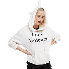 "What about this for a unicorn birthday party? Give this unicorn birthday party hoodie to birthday girl and as party favors to all the guests. This ""I'm a Unicorn"" hoodie screams unicorn party for a birthday or other special occasion. Unicorn Shops birthday party I'm a Unicorn hoodie come in white in a few sizes. We have many items for unicorn birthday party gifts and favors, not just hoodies. Unicorn Shops Pinterest boards show more birthday party items or visit our web store to see them…"