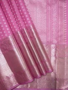 Online shopping from a great selection at Clothing & Accessories Store. Pink Saree Silk, Wedding Silk Saree, Indian Silk Sarees, Organza Saree, Pure Silk Sarees, Maroon Saree, Saree Floral, Bridal Sarees, Anarkali Gown