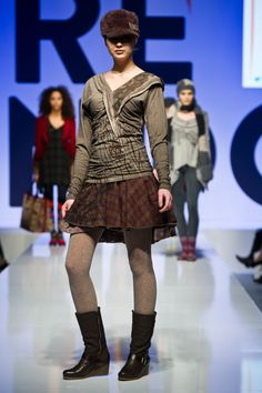 2013 Fall Winter Collection on stage