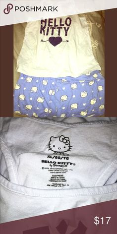 HELLO KITTY Pajamas ✨ Super comfy for bed hardly ever worn.✨ Hello Kitty Other