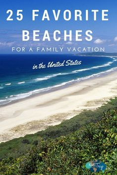 25 Best US Beaches for Families - We asked our fellow travel writers to share their favorite beaches in the U S for a family vacation - Best Us Beaches, Best Family Beaches, Family Vacation Destinations, Vacation Trips, Travel Destinations, Family Beach Vacations, Family Summer Vacation Ideas, Vacation Outfits, Best Family Vacation Spots