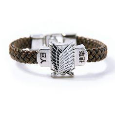 Get This Attack On Titan Shingeki no Kyojin bracelet for just $9.95 (instead of $10.95) Now! - FREE SHIPPING! Be Sure To Claim Yours Before They're Gone! Payment is Guaranteed To Be 100% Safe and Secu