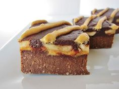 Raw Banana Peanut Butter Brownies via Fragrant Vanilla Cake. You won't be able to eat just one! #bananas #peanutbutter #brownies #recipe
