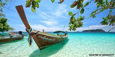 I love Thailand!!! Phuket & Phi Phi Island are my favorite vacation destinations!!