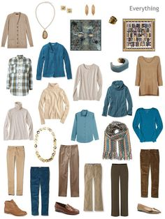 VERSION TWO: Capsule Wardrobe inspired by  a Scarf: Pigs on the Wing by wrq.e.d.