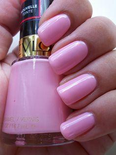 """Revlon """"Pink Chiffon"""" - on my nails 10/19/12"""