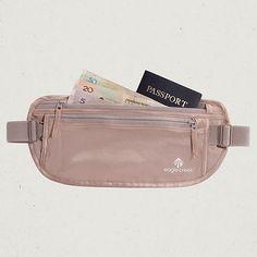 Eagle Creek Official Store, Silk Undercover™ Money Belt, rose, Money Belts & Neck Wallets, EC-41123