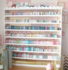 lillyscandyclips: Updated Washi Shelf