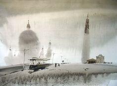 The wonderful world of watercolor maestro Alexander Votsmush (P-1)