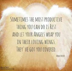 Rest in your angels wings