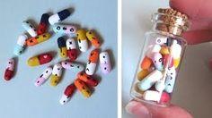 Kawaii pills - polymer clay tutorial