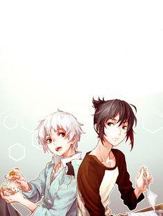 Shion & Nezumi {No.6}