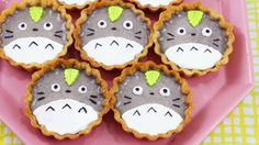 These Totoro Black Sesame Tarts would be the perfect treat for any Totoro lover :D Enjoy, and make sure to share pictures of your treats on Facebook and Inst...