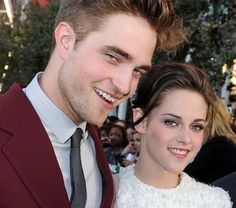Kristen Stewart and Robert Pattinson officially back together - so who's the 'mystery blond' with him? #Twilight