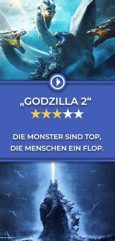 Die Filmstarts-Kritik zu Godzilla King Of The Monsters Godzilla 2, Monster, Movies, Movie Posters, Art, Movie, People, Art Background, Films