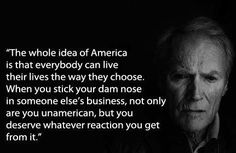 """Clint Eastwood Quote Vote Romney/Ryan Nov 6 '12 