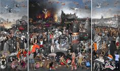 2011 Lluis Barba - The Temptation of Saint Anthony - After Jheronimus Bosch