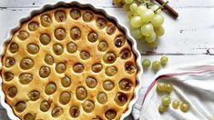 Tejfölös-túrós szőlős pite #tészta #recept #szőlő #ősz