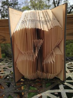 Folded Book-The Letter 'Z' by KimmoCreations on Etsy