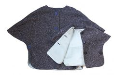 Easy pattern for capes - kids version too.