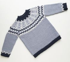 Ravelry: Emblagenser/Emblasweater pattern by Tina Hauglund Kids Knitting Patterns, Easy Knitting Projects, Knitting For Kids, Baby Barn, Baby Bunnies, Ravelry, Knit Crochet, Gucci, Sewing