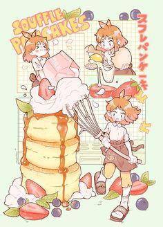 ripped skin tattoos for women - ripped skin tattoos for women Pancake Drawing, Pancake Art, Food Drawing, Cute Kawaii Drawings, Kawaii Art, Kawaii Anime, Food Illustrations, Illustration Art, Chibi Food
