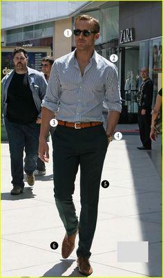 Ryan Gosling fashion in Crazy, Stupid Love.