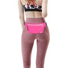 Amazon.com   fitter s niche Ultra Slim Fanny Waist Pack Running Belt for  Women Men 6a4be50404f