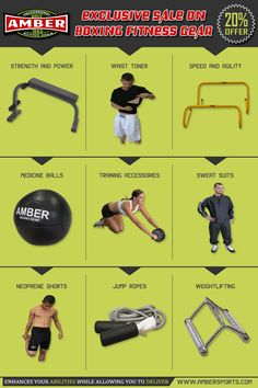In order to build up the strength and power the necessary instruments should be acquired and ambersports.com is the perfect online shop for all your sporting and Fitness goods.