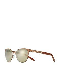 6f5b74c8b4 Metal Fret-T Cat-Eye Sunglasses Cat Eye Sunglasses