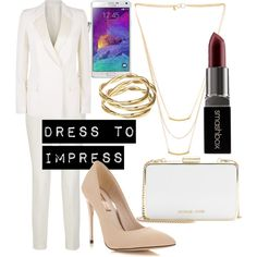 A fashion look from February 2015 featuring Victoria Beckham blazers, Gucci pants and Miss Selfridge pumps. Browse and shop related looks.