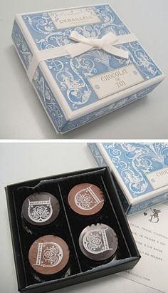 ドゥバイヨル Dessert Packaging, Tea Packaging, Brand Packaging, Packaging Design, Branding Design, Label Design, Box Design, Cake Logo, Samos